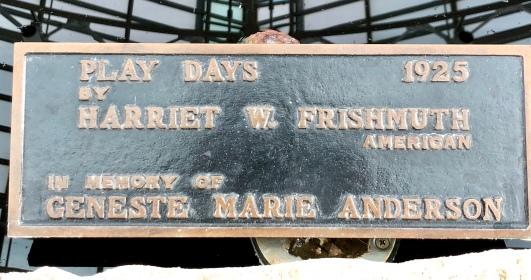 playdays plaque