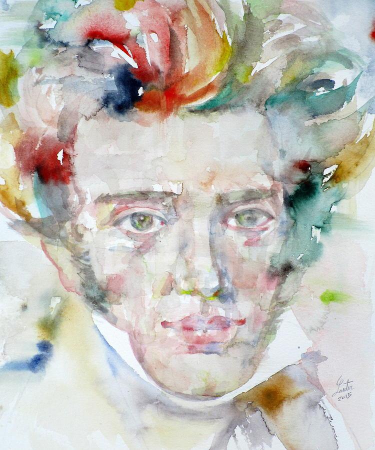soren-kierkegaard-watercolor-portrait-fabrizio-cassetta