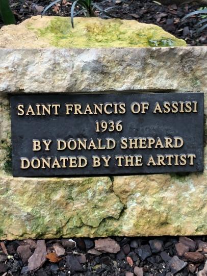 st frank plaque